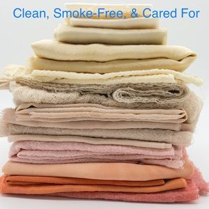 Clean, Smoke-Free, & Cared-For Items